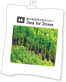 1box for 2trees